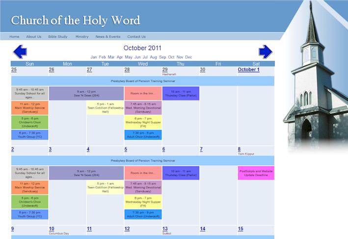 Free Online Calendar Maker For Webmaster School Family